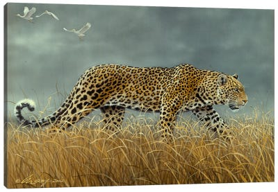 Leopard 2 Canvas Art Print