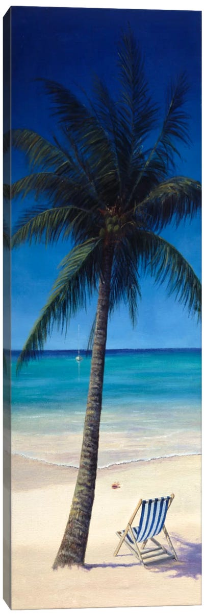 Tropics Canvas Art Print