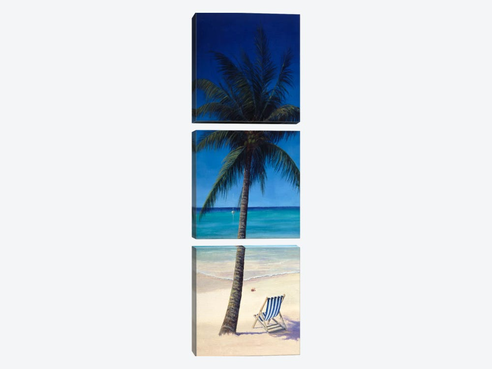 Tropics by Bill Makinson 3-piece Canvas Art Print