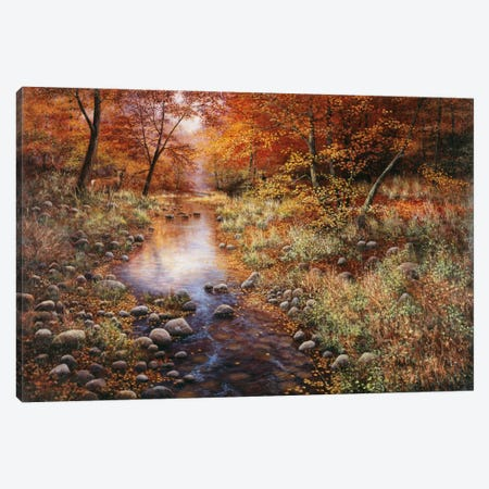 Autumn Gold Canvas Print #9358} by Bill Makinson Canvas Print