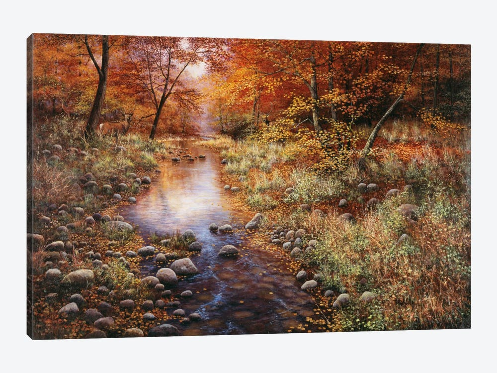 Autumn Gold 1-piece Canvas Wall Art