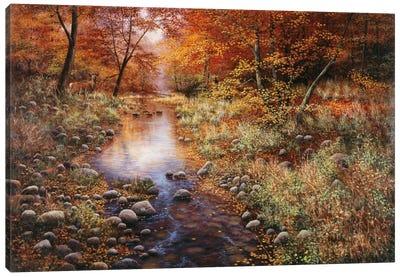 Autumn Gold Canvas Art Print