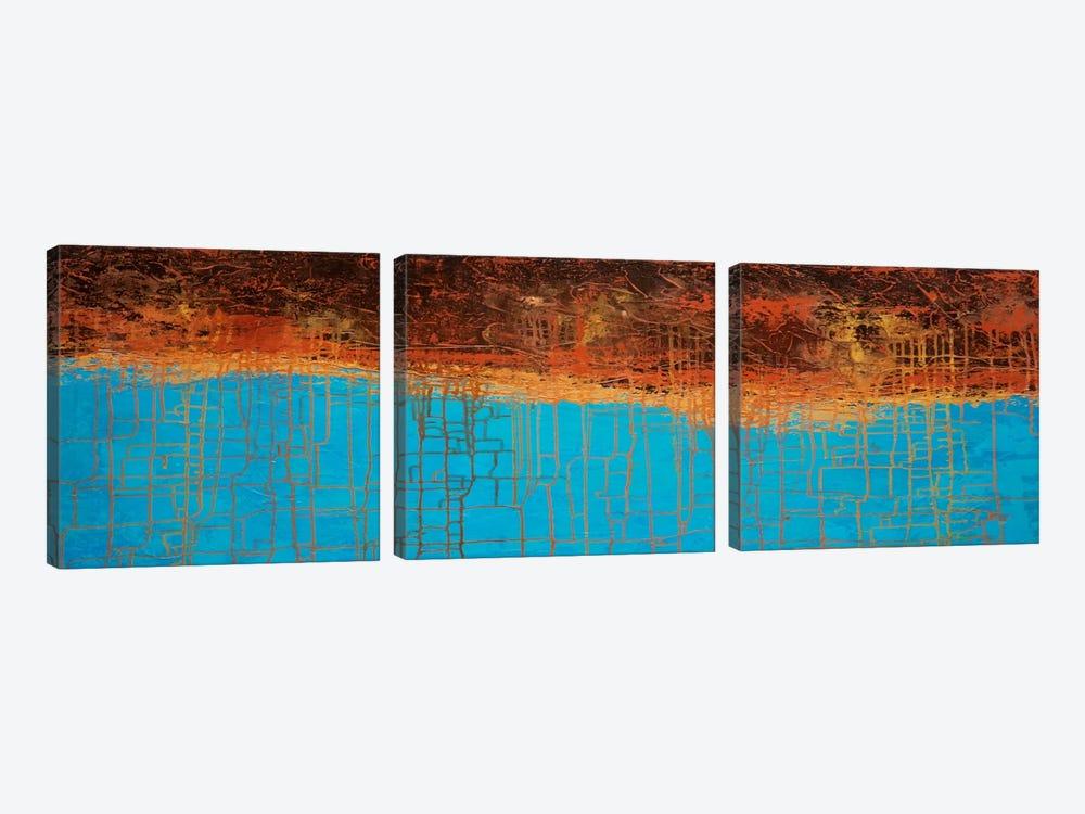 Alpine Chorus by John Van Straalen 3-piece Canvas Print