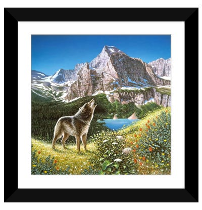 Alpine Chorus Framed Art Print