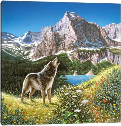 Alpine Chorus Canvas Art Print