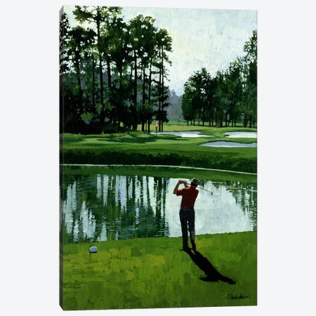 Golf Course 9 Canvas Print #9375} by William Vanderdasson Canvas Art