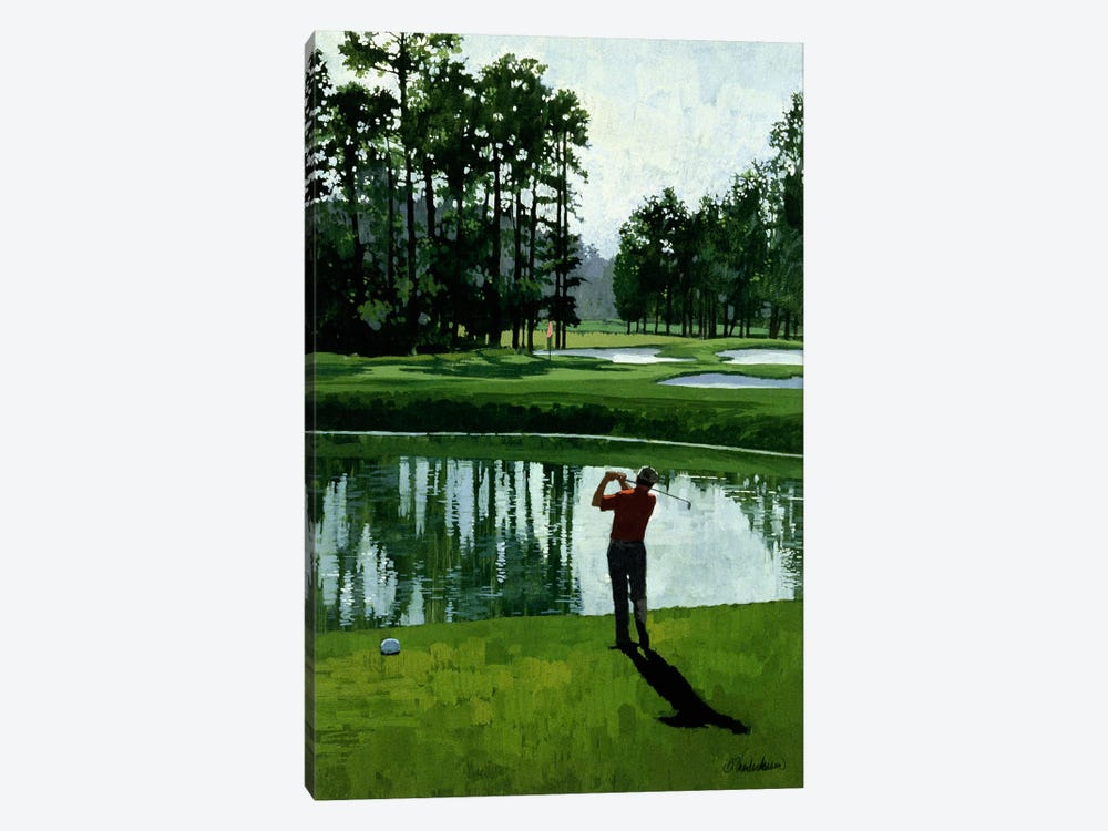 Golf Course 9 by William Vanderdasson 1-piece Art Print