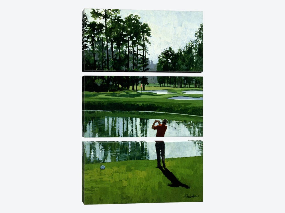 Golf Course 9 by William Vanderdasson 3-piece Art Print