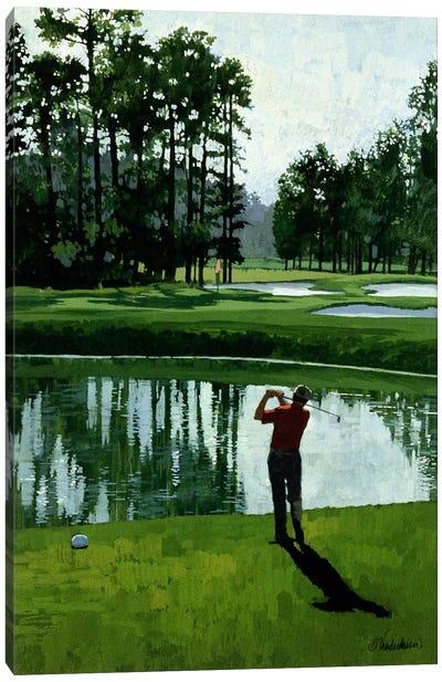 Golf Course 9 Canvas Art Print