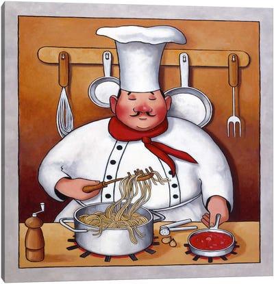 Chef 4 Canvas Art Print
