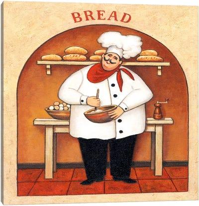 Bread Canvas Art Print