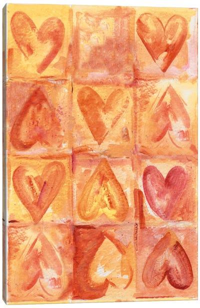 Sensitive Hearts Canvas Art Print