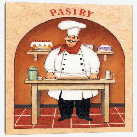 Pastry Canvas Print #9423} by John Zaccheo Art Print