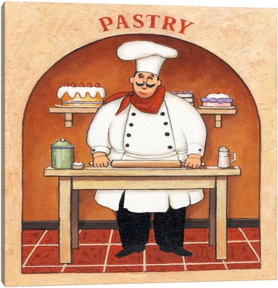 Pastry Canvas Art Print