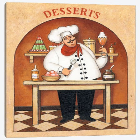 Desserts Canvas Print #9424} by John Zaccheo Canvas Art
