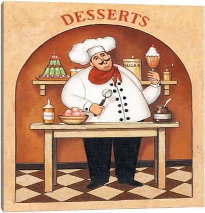 Desserts Canvas Art Print