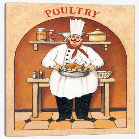 Poultry Canvas Print #9425} by John Zaccheo Canvas Artwork