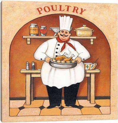 Poultry Canvas Art Print