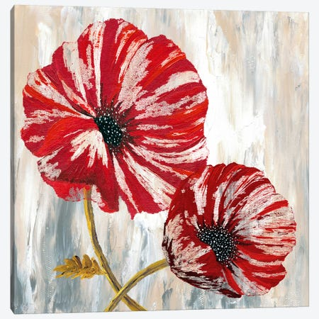 Red Poppies I Canvas Print #9429} by Willow Way Studios, Inc. Art Print