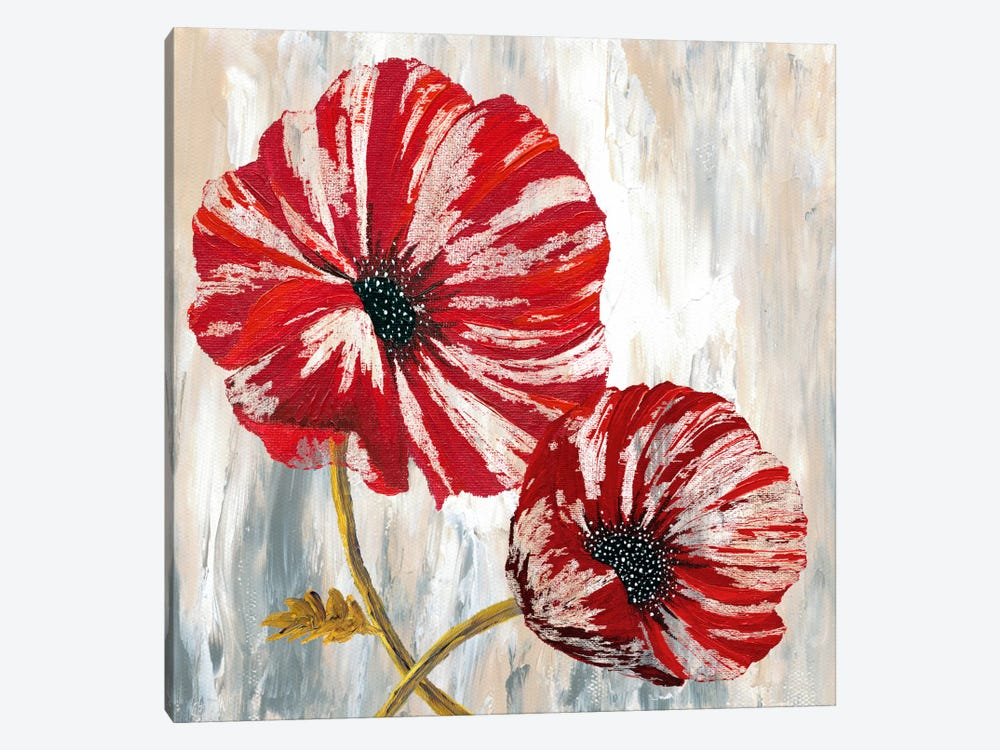 Red Poppies I by Willow Way Studios, Inc. 1-piece Art Print