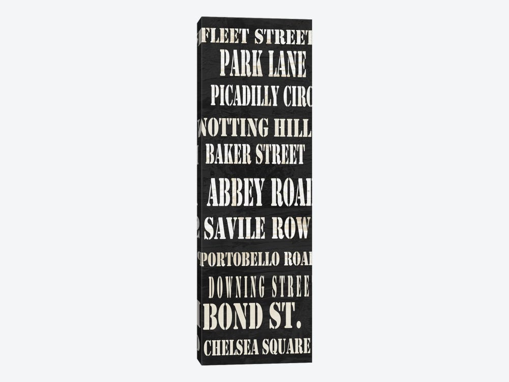London Streets from Willow Way StudiosInc collection by Willow Way Studios, Inc. 1-piece Canvas Print