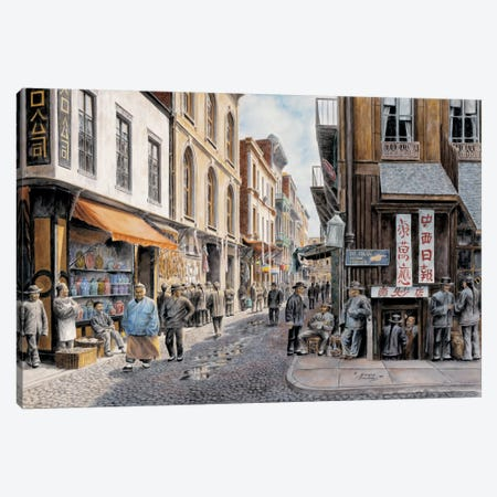 China Town Canvas Print #9440} by Stanton Manolakas Art Print