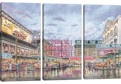 Pike Place Market Canvas Art Print