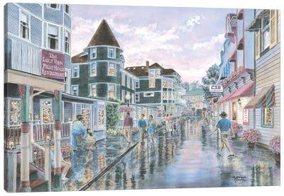 Mackinaw Sunset Canvas Art Print