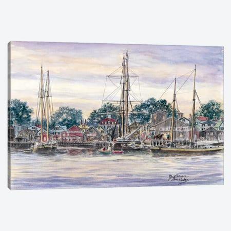 Providence Town Canvas Print #9453} by Stanton Manolakas Canvas Artwork