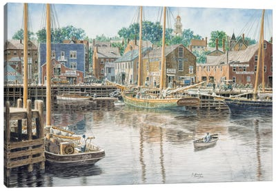 Old Gloucester Canvas Art Print
