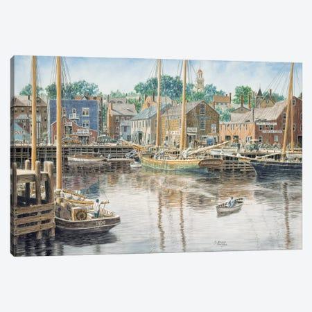 Old Gloucester Canvas Print #9454} by Stanton Manolakas Canvas Print