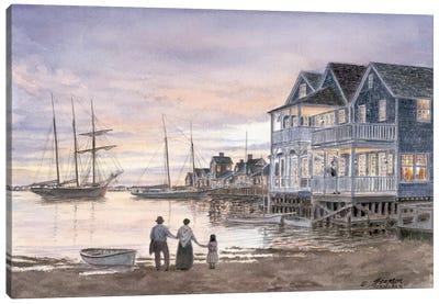 Nantucket Sunset Canvas Art Print