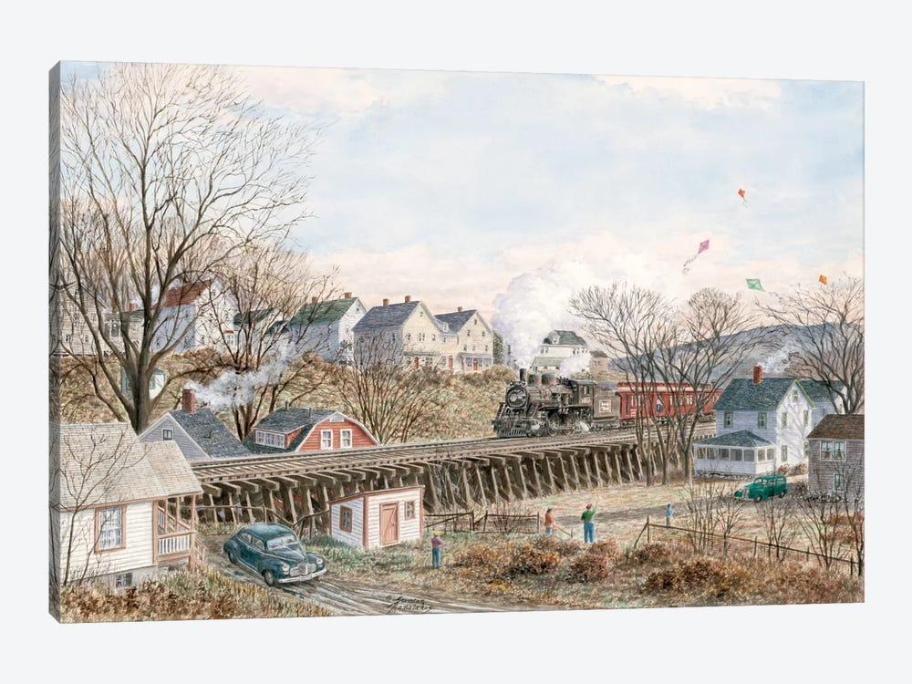 Kites of March by Stanton Manolakas 1-piece Canvas Art Print