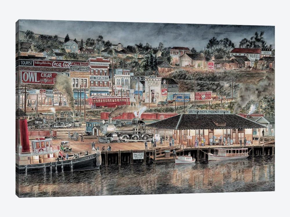 San Pedro by Stanton Manolakas 1-piece Canvas Print