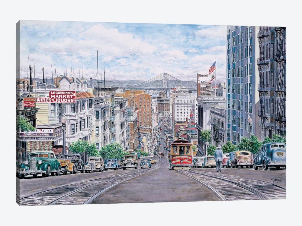 Down California by Stanton Manolakas 1-piece Canvas Artwork