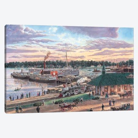 Harbor Springs, Michigan Canvas Print #9465} by Stanton Manolakas Canvas Art