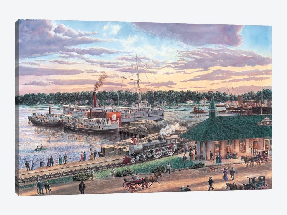 Harbor Springs, Michigan by Stanton Manolakas 1-piece Art Print