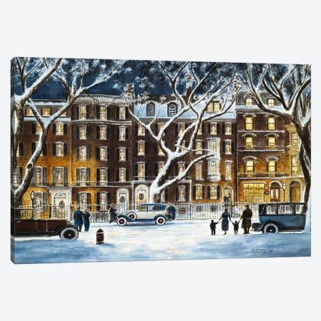 Beacon Street Canvas Print #9472} by Stanton Manolakas Canvas Artwork
