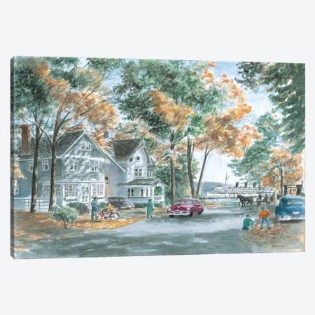Autumn on Gwenn Dr. Canvas Print #9477} by Stanton Manolakas Art Print