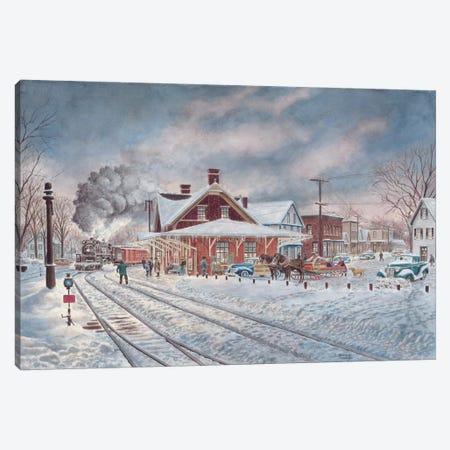 Wilton, N.H. Canvas Print #9479} by Stanton Manolakas Canvas Art