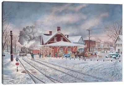 Wilton, N.H. Canvas Art Print