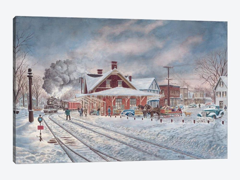 Wilton, N.H. by Stanton Manolakas 1-piece Canvas Artwork