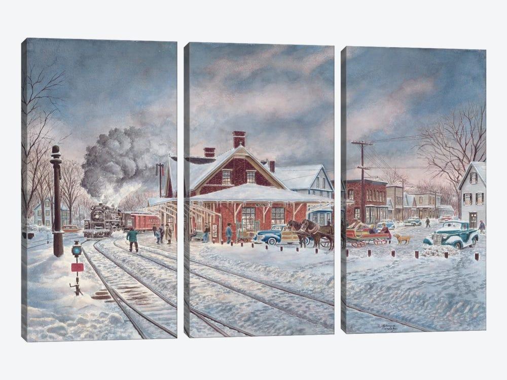 Wilton, N.H. by Stanton Manolakas 3-piece Canvas Artwork