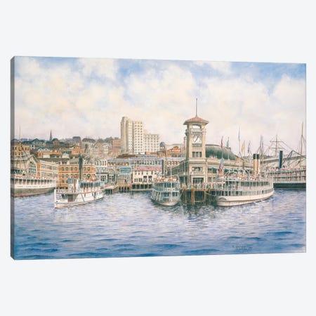 Coleman Docks Canvas Print #9485} by Stanton Manolakas Canvas Art