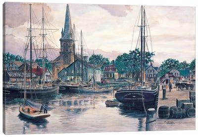 Provincetown Sunset Canvas Art Print