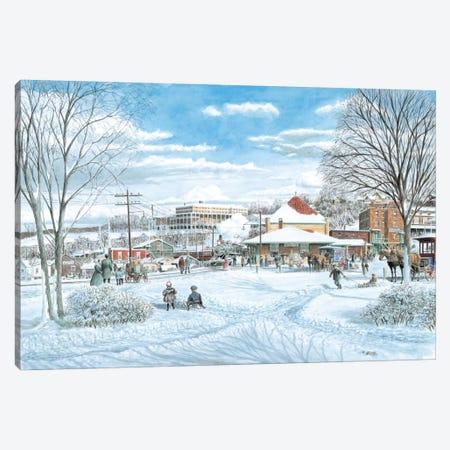 Last Run Canvas Print #9492} by Stanton Manolakas Canvas Art