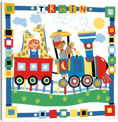 Train II Canvas Art Print