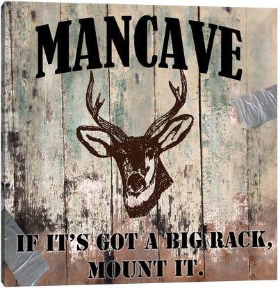 Mancave II Canvas Art Print