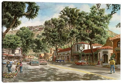 Laguna Beach Canvas Art Print