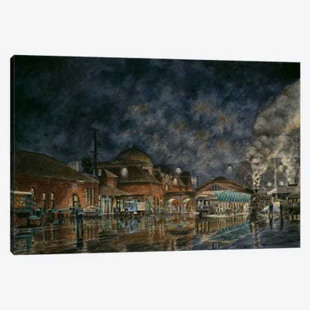 The Le Grande Station Canvas Print #9510} by Stanton Manolakas Art Print